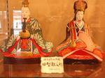 津崎米夫さん所蔵旧型雛人形