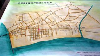 〈企画事業〉184:�D「津屋崎千軒昭和初期の町並み」復元地図・津崎米夫さんら作製.JPG